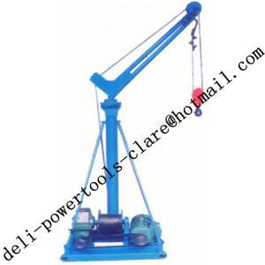 Quality portable crane lift/small portable crane for sale