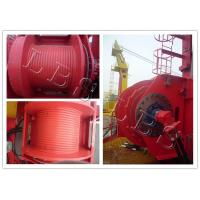 Quality Single Drum Electric Winch Machine 45kn 50kn Rated Load For Hoist And Marine for sale