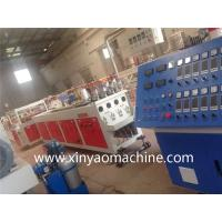Quality XINYAO Twin Screw PVC Pipe Extrusion Line One Mould with Four Die Cavity for sale
