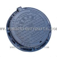 Quality Factory Direct Selling EN124 Ductile Iron Sand Casting Manhole Cover Make In China for sale