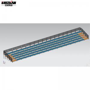 Quality Metal Theatre Stadium Bleacher Seating Retractable Gym Bleacher for sale