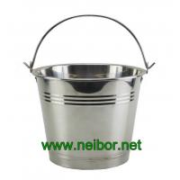 Quality stainless steel ice bucket beer coolers 4Litres 6Litres for sale