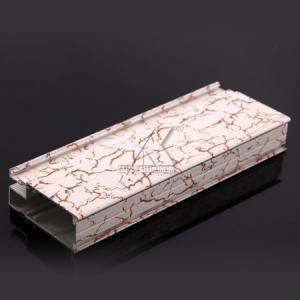 China Figure 6063 Aluminium Kitchen Cabinet , Extruded Aluminium ProfilesEasyCleaning on sale
