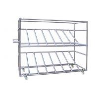 China Modular System Stainless Steel Pipe Rack Chrome Plated Connectors on sale