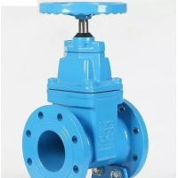 Buy cheap DIN3352 F4 Rising Stem Ductile Iron Gate Valve Manual Actuator from wholesalers