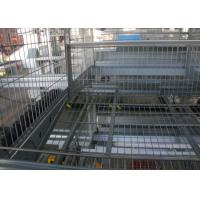 Quality Hot-dip galvanizing technology Reliable Layer Poultry Farming Equipment  / Egg Laying Chicken Cages for sale