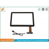 China Black Border 14 Inch POS Touch Panel Capacitive Multifunction With USB Connector on sale