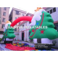 Best 10m Outdoor Inflatable Christmas Decoration Tree Arch For Holiday Decoration wholesale