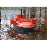Quality RC model shuttle bait boat , ABS engineering plastic radio controlled bait boat for sale