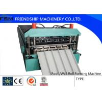 Quality Automatic C Z Purlin  Roll Forming Machine , Cold Steel Roll Forming Machine for sale