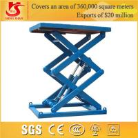 Quality scissor lift Factory price 3.5m stationary pallet for sale