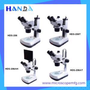 China HANDA zoom stereo microscope 1:8 binocular stereo microscope for phone on sale