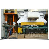 Cored Oxygen Free Copper Melting Furnace , Semi Continuous Frequency Induction Furnace