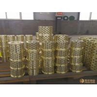 Buy Bushings Copper Casting Sleeve High Strength Brass Aluminum Bronze Industrial at wholesale prices