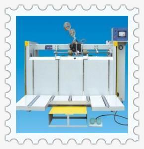 China semi-automatic corrugated cardboard single piece box press on sale