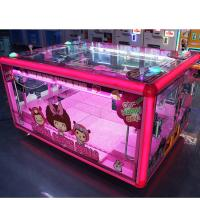 Quality Box Shape Prize Vending Machine Grabber Dolls Toy Crane Claw Machine for sale