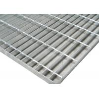 Quality 1m*6m Galvanized 19w4 Steel Grid Plate Bar Grating Weight For Fixed Platform for sale
