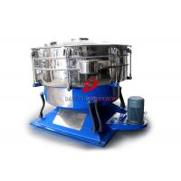 Quality Low Acceleration Abrasive Material Round Swing Tumbler Screen With No Mesh Plug for sale