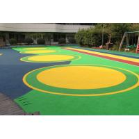 Office Buildings Outdoor Playground Surface Material Anti Slip Flooring