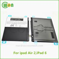 China 3.7V 7340mAh polymer replacement battery for iPad air 2 battery for iPad 6 battery A1547 A1566 A1567 MH332LL/A MH2V2LL/A on sale