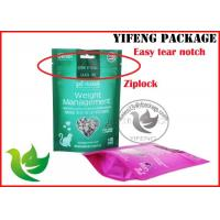 Best Industrial Stand Up Ziplock Storage Bags With Clear Window , Gravure Printing wholesale