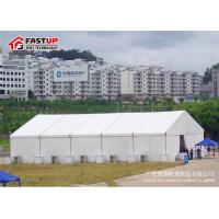 Quality High Capacity Modern Wedding Marquee Tent With Transparent Window Rain Proof for sale