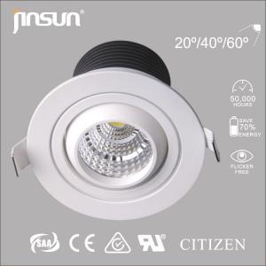 zhongshan led lighting fixture 7W bridgelux factory price high lumen lamp led light down