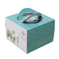 Best Delicate Corrugated Cardboard Gift Boxes , Birthday Cake Packaging Boxes wholesale