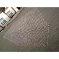Quality Galfan Coated Hexagonal Rock Gabion Baskets With 350 - 550Mpa Tensile Strength for sale