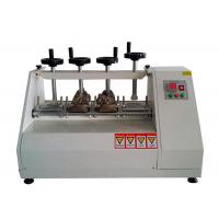 Finished Shoes Flexing Bend Test Machine , Material Testing Laboratory Equipment
