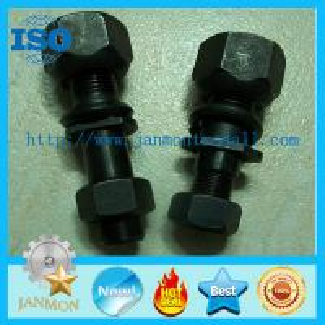 China Front Bolt,High tensile bolt,Grade 10.9 bolt,Black oxide hex bolt,Auto hub bolt,Hex head bolt with nut,Front bolt nut on sale