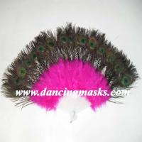 China Dance fans Feather fans on sale
