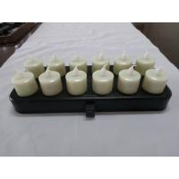 Buy cheap White / Red light remote control led christmas candle with 21 buttons from wholesalers