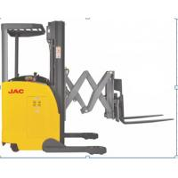Quality 1500kg Load Capacity Electric Reach Truck Forklift With Double Scissor for sale