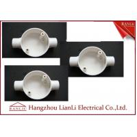 Quality White Conduit Terminal Box Waterproof PVC Conduit and Fittings Two Way for sale