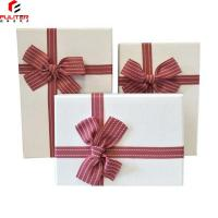 China Wrapping Paper Jewelry Boxes Set , Jewelry Gift Boxes For Necklaces on sale
