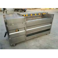 Quality Silver Potato Washing Equipment, 304 Stainless Steel Carrot Cleaning Machine for sale