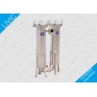 Sideline Absolute Sealing  Bag Filter Housing Good welding quality with Concave cover