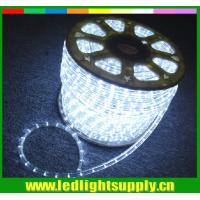 Best 2 wire led thin rope light white color for christmas decoration wholesale