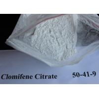 Buy cheap Clomid Anti Estrogen Steroids Tamoxifen Citrate CAS: 50-41-9 White Powder from wholesalers