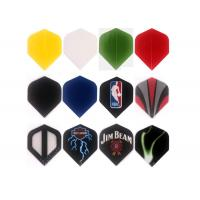China Colorful PET Custom Dart Flights Personalized With Printing Logo Standard Shape on sale