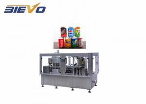 Quality Soda 200ml 2200x2100x2200mm Beer Filling Machine for sale