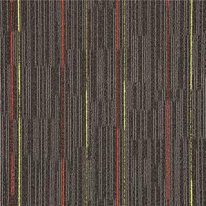 Colorful Indoor Outdoor Carpet Tiles / Commercial Grade Carpet Tiles