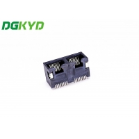 Quality UL 94V-0 56 Double PortTAB UPRJ45 Network Connector for sale