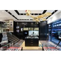 China Boutique Watch shop Display fixture Glass Showcase in Grand Wood decoration wall and Selling holder stand on sale
