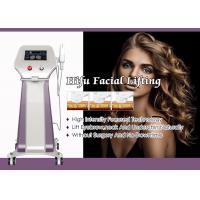 Quality Non Surgical HIFU Facelift Machine / High Intensity Focused Ultrasound Machine for sale