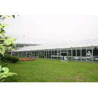 Quality Outdoor Party Tent Self - Cleaning, Glass Wall Tent For Activity Fair Celebration for sale