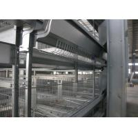 Quality High Rearing Efficiency Industrial Chicken Coop Poultry Farm Cage ISO9001 Approved for sale