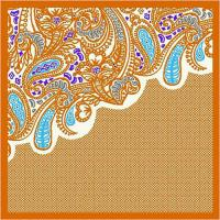 China 2012 new design hot selling ladies silk neck scarf twill silk scarf on sale