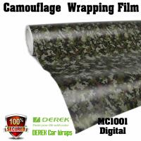 Quality Camouflage Automotive Vinyl Wrapping Film bubble free 1.52*30m/roll - Digtal for sale